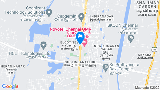 Vivanta Chennai IT Expressway Map