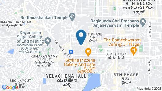 Shravanthi Sarovar Portico Map