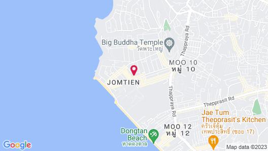 Arabella Villas Pattaya Map