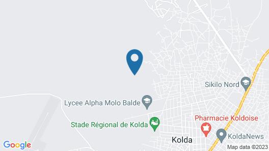 Le Relais de Kolda Map