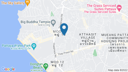 Magic Private Pool Villas Pattaya Map