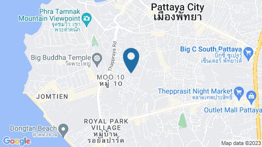 Arcadia Beach Resort Pattaya Map