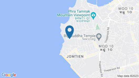 Phratamnak Inn Map
