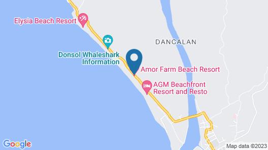 Amor Farm Beach Resort Map