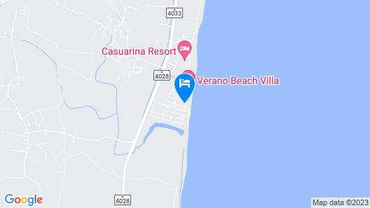 Verano Beach Villa Map
