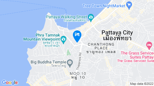 Citrus Grande Hotel Pattaya by Compass Hospitality Map