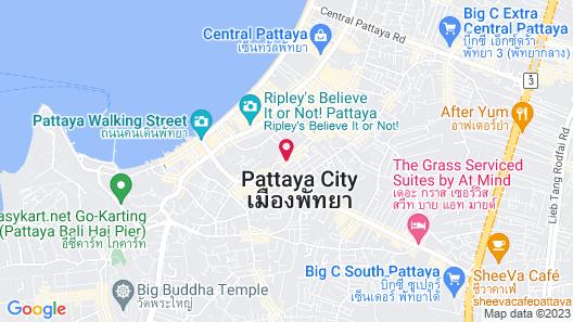 The Links Hotel Pattaya Map