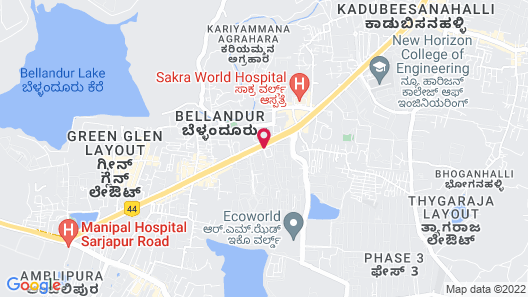 Fairfield By Marriott Bengaluru Outer Ring Road Map