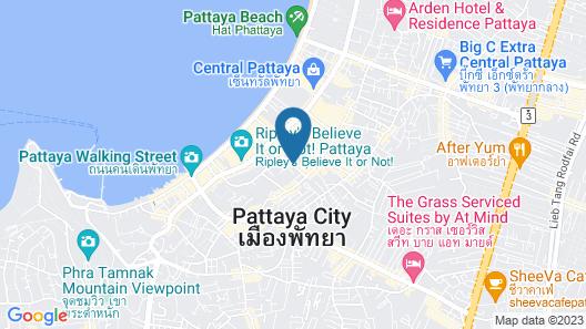 Centra by Centara Avenue Hotel Pattaya Map