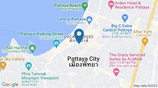 Travelodge Pattaya Map