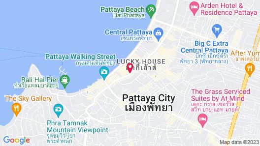 Avani Pattaya Resort (SHA Plus+) Map