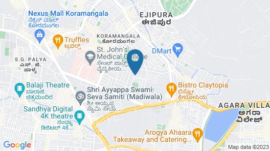 Grand Mercure Bangalore Map