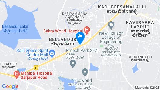 Ibis Bengaluru Outer Ring Road Map
