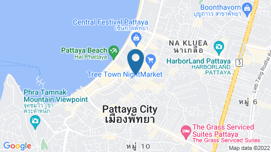 Areca Lodge Map