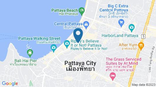 Intimate Hotel Pattaya  Map