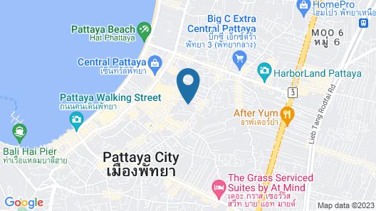 Hotel Amber Pattaya Map