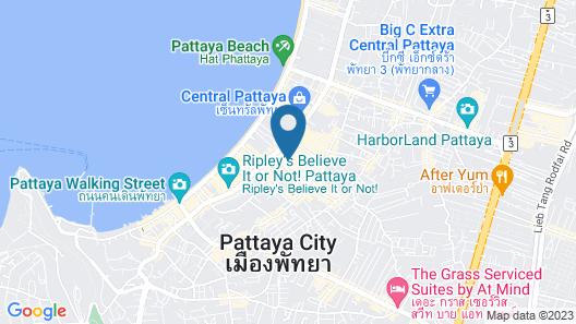 The Base Central Pattaya by Minsu Map