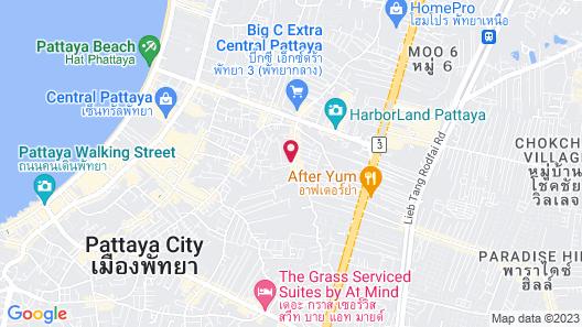 M Place Pattaya Map