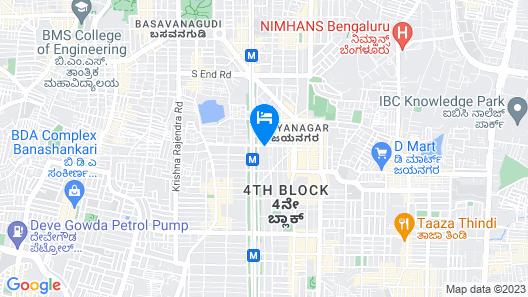 Alcott Hotel & Resorts Map
