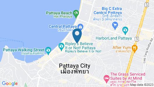 Central Pattaya Residence - The BASE Condo Pattaya Map