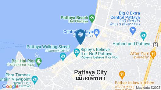 LK The Empress Pattaya Map