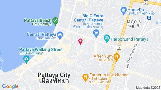 The Holiday Resort Pattaya Map