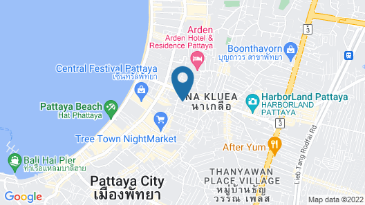 LK Royal Suite Pattaya Map