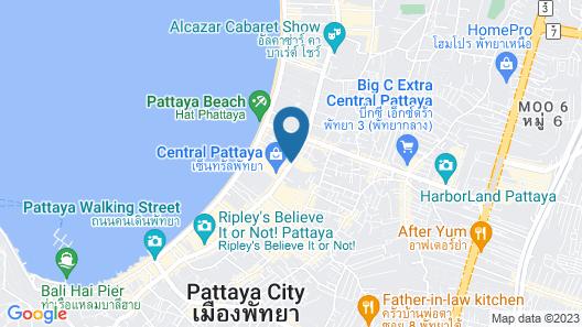 Hi Capsule Pattaya - Adults Only Map
