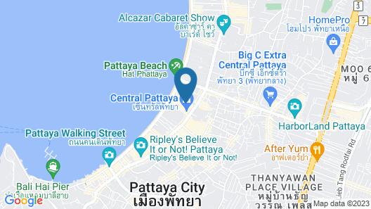 Hilton Pattaya Map