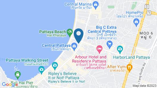 Flipper House Hotel Map