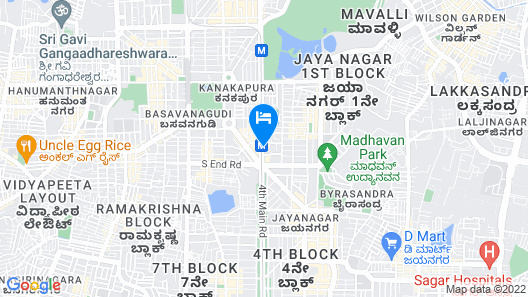 OYO Flagship 10866 Bangalore Map