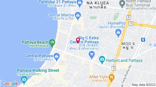 Nova Suites Pattaya Map