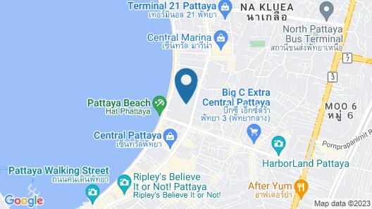 Hard Rock Hotel Pattaya Map
