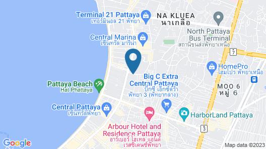 Centara Pattaya Hotel Map