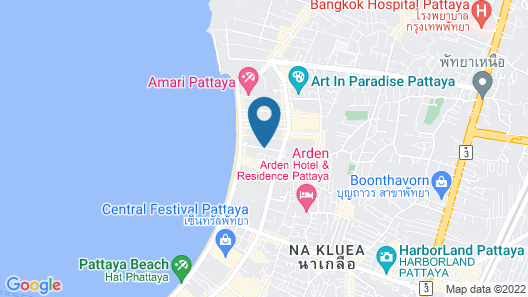 Pattaya Blue Sky Map