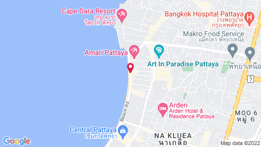 A-One Star Hotel Map