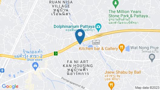 The Gems Mining Pool Villas Pattaya Map