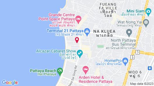 ibis Pattaya Map