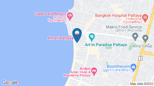 Holiday Inn Pattaya, an IHG Hotel Map