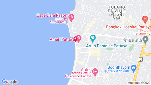 Amari Pattaya Map