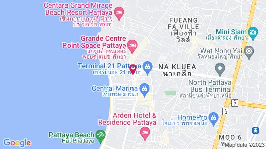 Grande Centre Point Pattaya Map