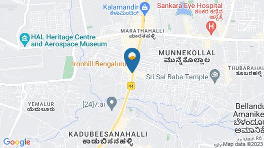 Radisson Blu Bengaluru Outer Ring Road Map