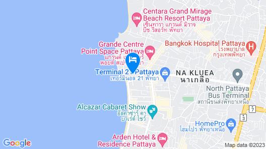 Dusit Thani Pattaya Map