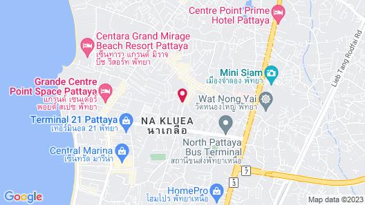 The Siamese Hotel Map