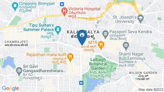 Sun International Hotel and Resorts Map