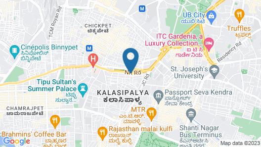 Lusia Inn Map