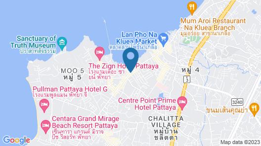 La Casa Pattaya Map