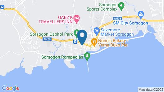 Paopao Hotel & Residences Map