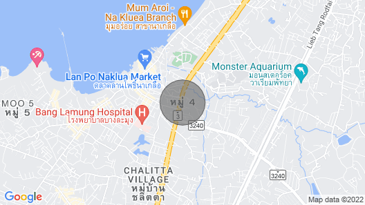 Homy Condo with surrounded sea view @ Pattaya Map