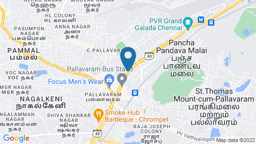 Mahalaya Residency,Chennai Map